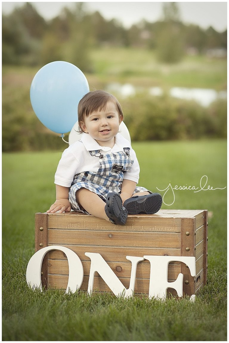 1 Year Old Photography Session With One